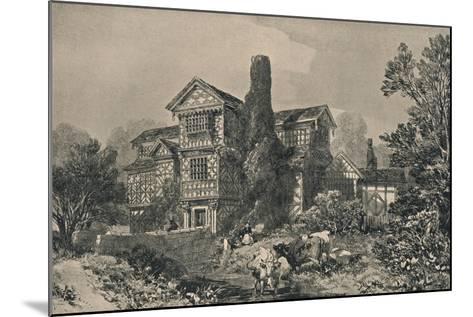 Little Moreton Hall, Cheshire, 1915-HL Pratt-Mounted Giclee Print
