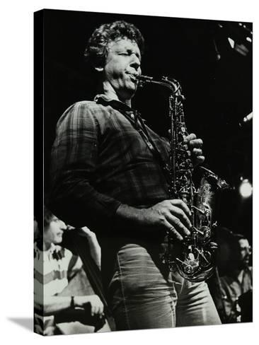 The Daryl Runswick Quartet in Concert at the Stables, Wavendon, Buckinghamshire, 1981-Denis Williams-Stretched Canvas Print