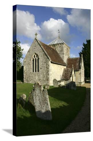 All Saints Church, Fonthill Bishop, Wiltshire, 2005-Peter Thompson-Stretched Canvas Print
