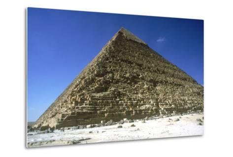 Pyramid of Khafre (Chephren), Giza, Egypt, 4th Dynasty, 26th Century Bc-CM Dixon-Metal Print