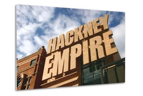 Hackney Empire, London-Peter Thompson-Metal Print