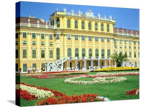 Schonbrunn Imperial Palace, Vienna, Austria-Peter Thompson-Stretched Canvas Print