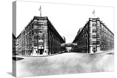 Head Office and Works of Joseph Lucas, Great King Street, Birmingham, West Midlands, 1961-Michael Walters-Stretched Canvas Print