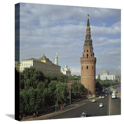 The Kremlin from the South West, 15th Century-Antonio Gislardi-Stretched Canvas Print