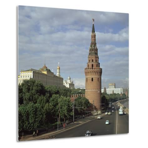 The Kremlin from the South West, 15th Century-Antonio Gislardi-Metal Print