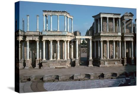 The Roman Theatre in Merida, Spain, 1st Century Bc-CM Dixon-Stretched Canvas Print