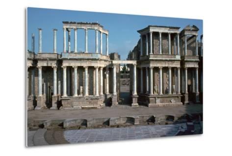 The Roman Theatre in Merida, Spain, 1st Century Bc-CM Dixon-Metal Print