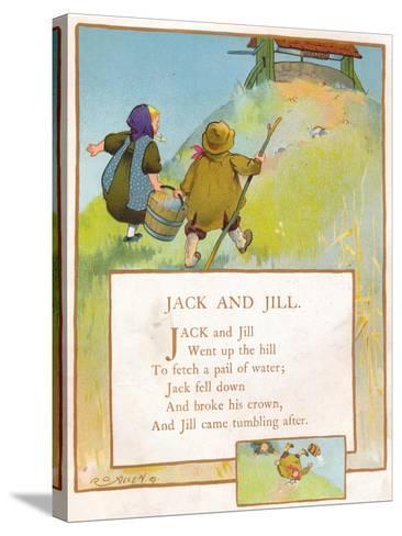 Jack and Jill, C1903-EA Keck-Stretched Canvas Print