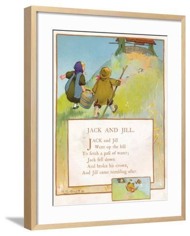 Jack and Jill, C1903-EA Keck-Framed Art Print
