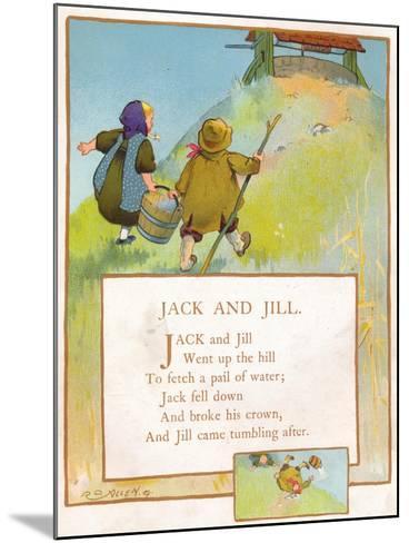 Jack and Jill, C1903-EA Keck-Mounted Giclee Print