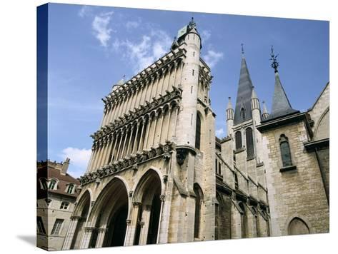 Church of Notre Dame, Dijon, Burgundy, France-Peter Thompson-Stretched Canvas Print