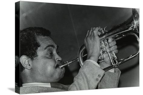Art Farmer on the Flugelhorn at the Bell, Codicote, Hertfordshire, 25 February 1985-Denis Williams-Stretched Canvas Print