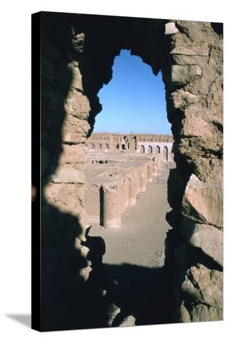 Fortress of Al Ukhaidir, Iraq, 1977-Vivienne Sharp-Stretched Canvas Print