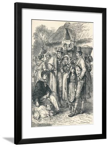 Irish Peasants, 1896--Framed Art Print