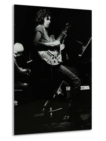Michael Garrick and John Etheridge Playing at the Stables, Wavendon, Buckinghamshire-Denis Williams-Metal Print