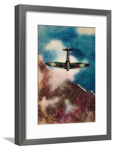 A Vickers Supermarine Spitfire, 1940--Framed Art Print