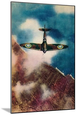 A Vickers Supermarine Spitfire, 1940--Mounted Giclee Print