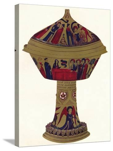 The Royal Gold Cup, C1370, (1904)--Stretched Canvas Print
