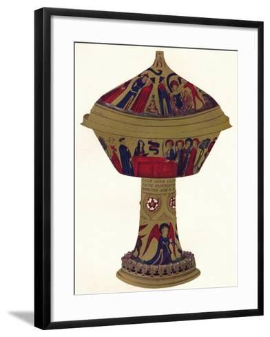 The Royal Gold Cup, C1370, (1904)--Framed Art Print