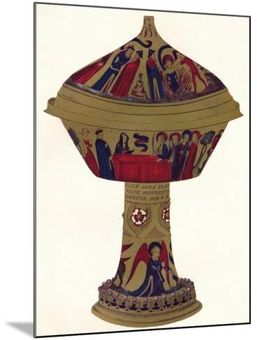 The Royal Gold Cup, C1370, (1904)--Mounted Giclee Print