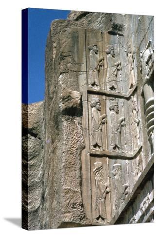 Tomb of Artaxerxes Ii, Persepolis, Iran-Vivienne Sharp-Stretched Canvas Print