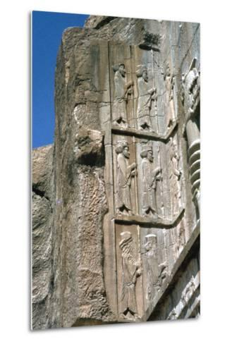 Tomb of Artaxerxes Ii, Persepolis, Iran-Vivienne Sharp-Metal Print