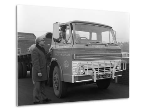 Ford D Series Lorry, 1967-Michael Walters-Metal Print