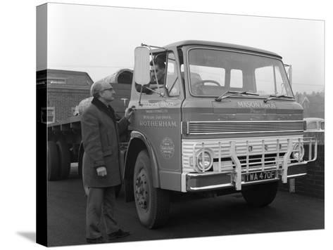 Ford D Series Lorry, 1967-Michael Walters-Stretched Canvas Print