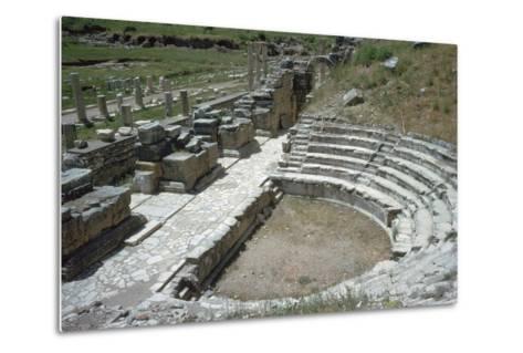 So-Called Odeion at Ephesus, 2nd Century-Publius Vedius Antoninus-Metal Print