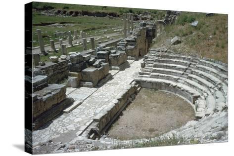 So-Called Odeion at Ephesus, 2nd Century-Publius Vedius Antoninus-Stretched Canvas Print