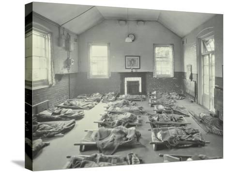 Young Children Asleep at Mitcham Residential School, London, 1931--Stretched Canvas Print
