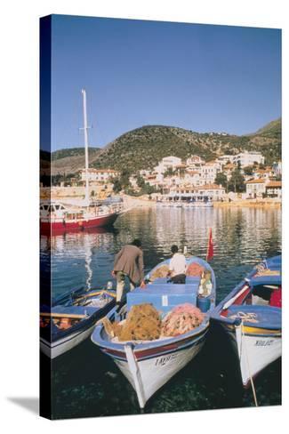 Kas Harbour, Turkey-Vivienne Sharp-Stretched Canvas Print