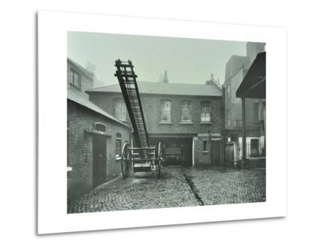 Clerkenwell Fire Station, No 44 Rosebery Avenue, Finsbury, London, 1910--Metal Print