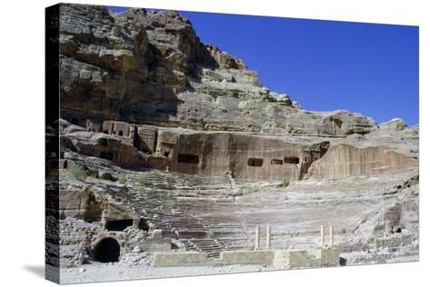 Roman Theatre, Petra, Jordan-Vivienne Sharp-Stretched Canvas Print