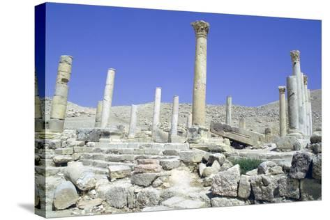 Ruins of the Ancient City of Pella, Jordan-Vivienne Sharp-Stretched Canvas Print