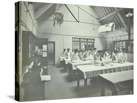 The Ironing Room, Battersea Polytechnic, London, 1907--Stretched Canvas Print