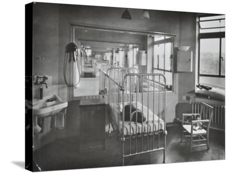 Childrens Isolation Wards, Brook General Hospital, London, 1948--Stretched Canvas Print