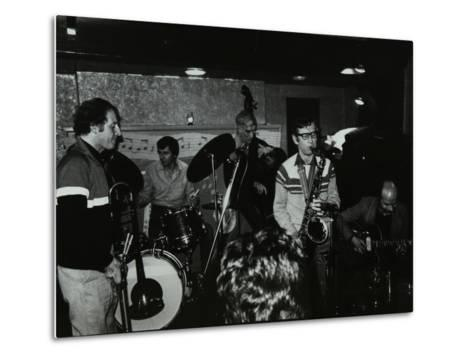 Jazz at the Bell, Codicote, Hertfordshire, January 1984-Denis Williams-Metal Print