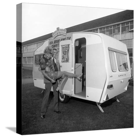 Caravan Winners, Rotherham, South Yorkshire, 1972-Michael Walters-Stretched Canvas Print