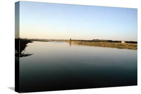 Wide River Tigris, Mosul, Iraq-Vivienne Sharp-Stretched Canvas Print