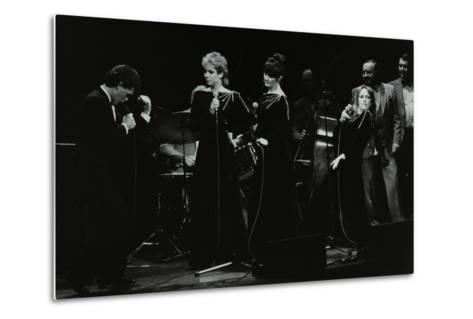 Georgie Fame and Sweet Substitute with Keith Smiths Hefty Jazz in Concert, 1984-Denis Williams-Metal Print