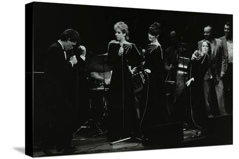 Georgie Fame and Sweet Substitute with Keith Smiths Hefty Jazz in Concert, 1984-Denis Williams-Stretched Canvas Print
