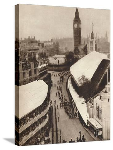 Nearing the Abbey, 1937--Stretched Canvas Print