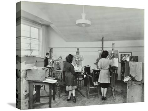 Still Life Class, Saint Martins School of Art, London, 1939--Stretched Canvas Print