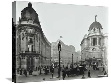 The Gaiety Theatre, Aldwych, London, 1909--Stretched Canvas Print