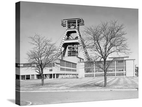 The Big A, Hem Heath Colliery, Trentham, Staffordshire, 1960-Michael Walters-Stretched Canvas Print