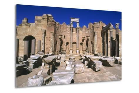 Severan Basilica, Leptis Magna, Libya, 216 Ad-Vivienne Sharp-Metal Print