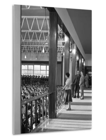 Tapton Hall Secondary Modern School, Sheffield, South Yorkshire, 1960-Michael Walters-Metal Print