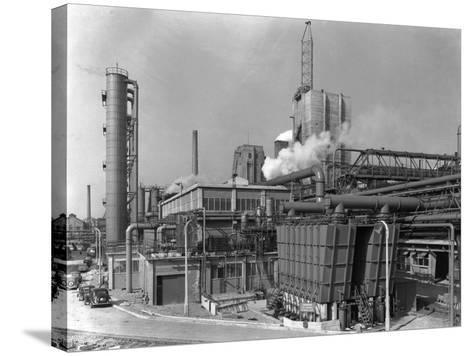 Manvers Coal Preparation Plant, Near Rotherham, South Yorkshire, 1956-Michael Walters-Stretched Canvas Print