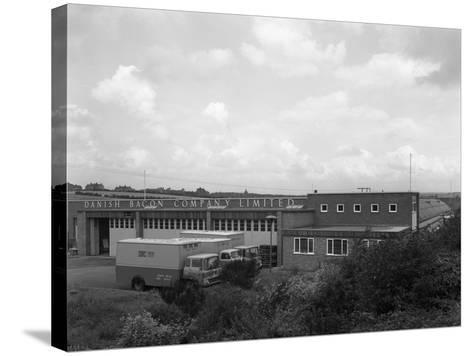 Danish Bacon Company Distribution Depot, Kilnhurst, South Yorkshire, 1963-Michael Walters-Stretched Canvas Print